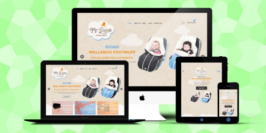 Mo Leanbh Responsive eCommerce website